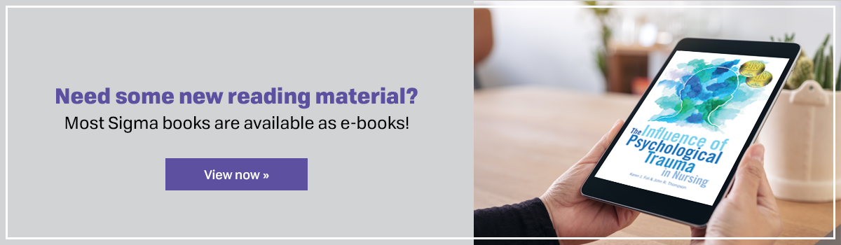 Most Sigma Books are avaliable as e-books!